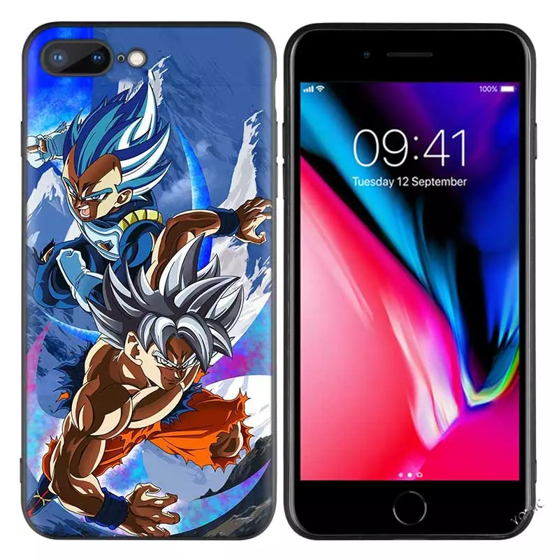 Free Print Dragon Ball Goku <strong>Z</strong> Super Back Cover Silicone Cell Phone Case for iPhone Case SE2020 XS A30 S20 S10 Phone Cover