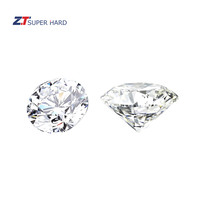 Wholesale round diamond lab grown white hpht cvd diamonds rough vs ef super engagement ring