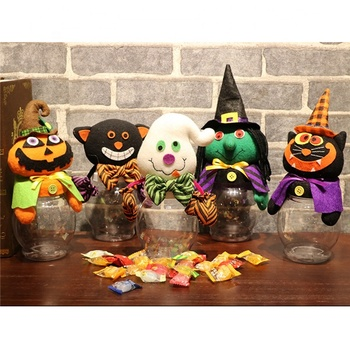 Mix wholesale Promotional candy toy storage bottles jars for Halloween Party