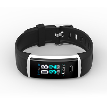 Activity & sleep tracker with changeable straps dynamic heart rate monitor call notification