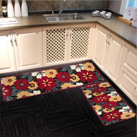 Custom wholesale high quality low cost flannel kitchen mat