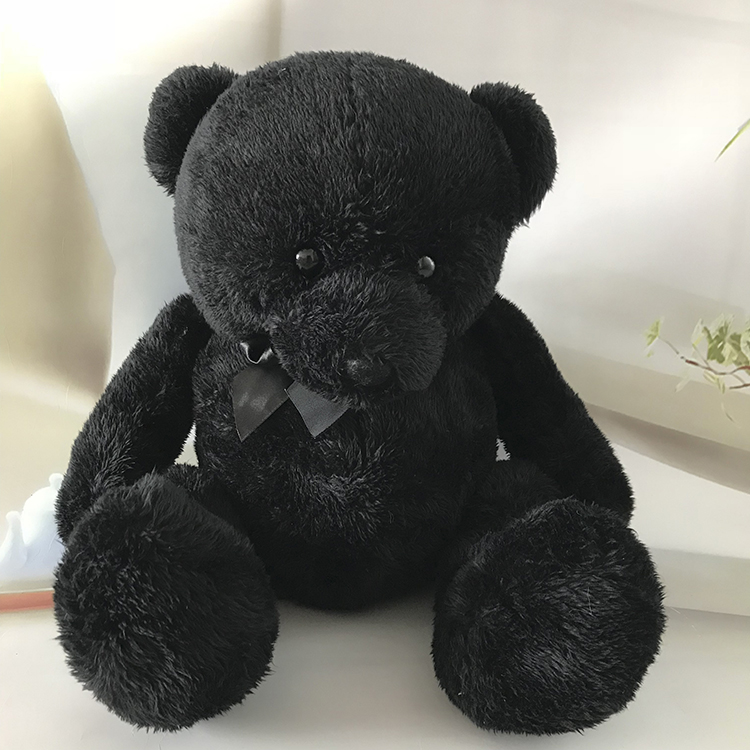 2020 New design China black bear backpack plush toy teddy bear stuffed animal