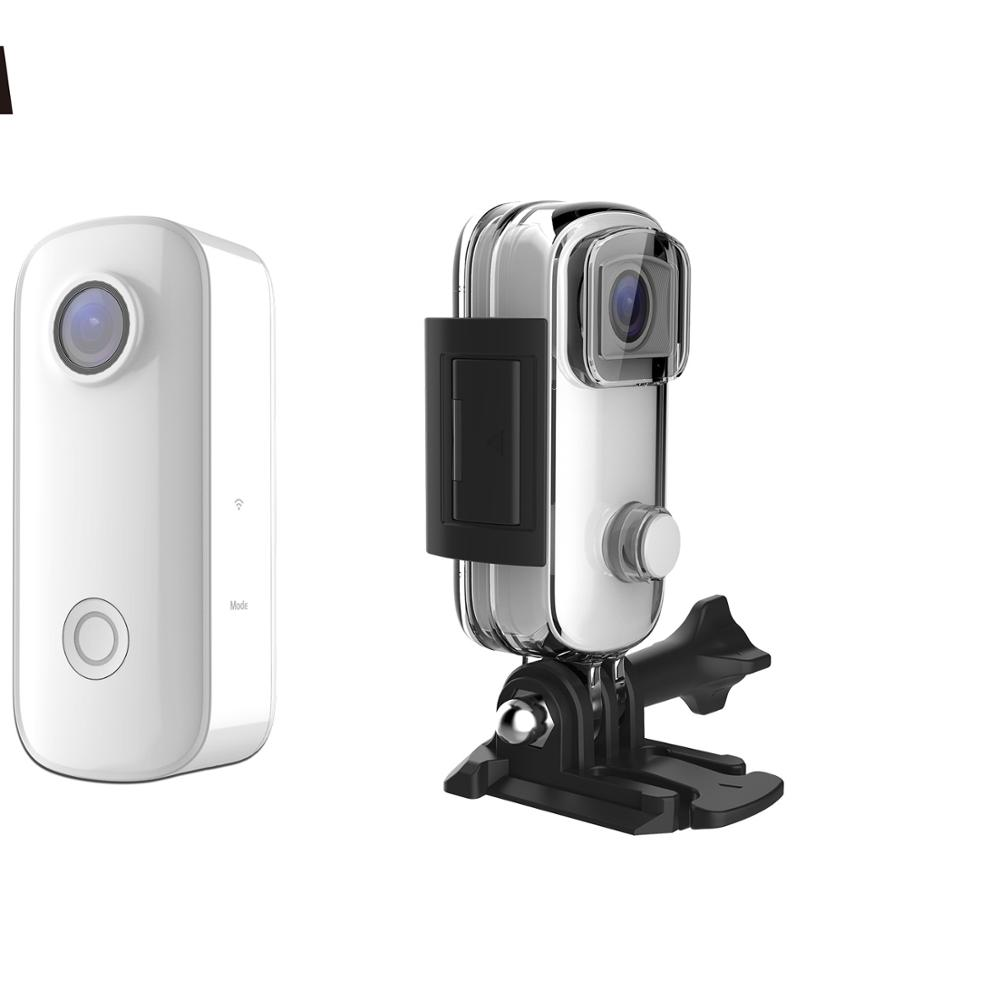 SJCAM Newest <strong>C100</strong> thumb <strong>camera</strong> available best for tiktok and weishi video recording and support 30m waterproof sports <strong>camera</strong>