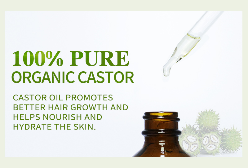 MSDS factory OEM 100% pure MSDS private label jamaican black castor oil for hair growth