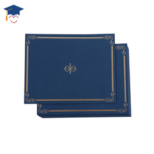 New diploma holder a5 size leather paper graduation certificate holder