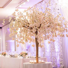Artificial flattop cherry blossom flower tree/<strong>sakura</strong> tree for restaurant office hotel decoration