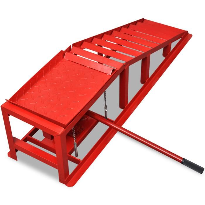 Car Ramps Height Adjustable Hydraulic Car Ramp Lift