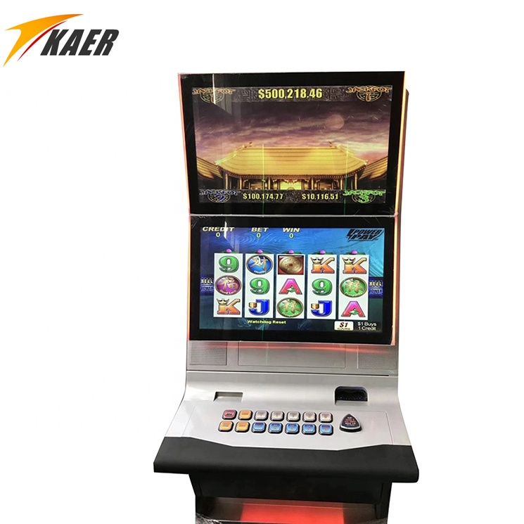Double flashing light slot machine