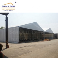 wind resistance warehouse tent for boat