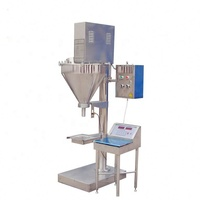 china supplier semi-automatic powder filling machine