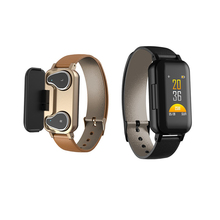 T89 TWS Binaural Bluetooth Wireless Earphones Fitness Bracelet Heart Rate Blood Pressure Sleep Monitoring Sports <strong>Smart</strong> <strong>Watch</strong>