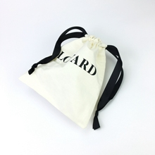 Custom 8&quot;<strong>X10</strong>&quot;/20.5X25.5CM Screen Printed Logo Cotton Flannel Dust <strong>Bag</strong> Covers For Handbags