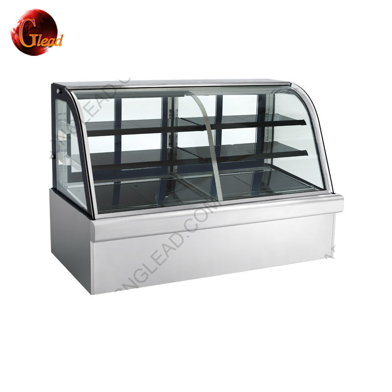 Factory Price Commercial Refrigerant Bakery Bread Display Cabinet