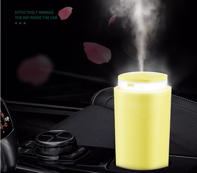 300ml Usb Portable Mini Humidifier Cool Ultrasonic Mist Humidifier For Car Office