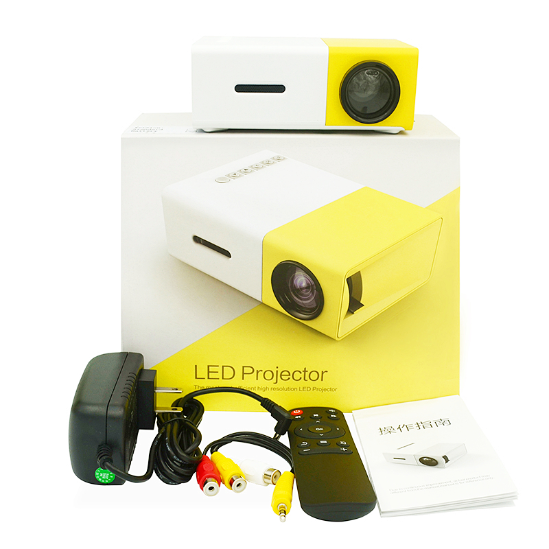 Home Mini Led Portable Smart Pocket Cinema Video <strong>Projector</strong> YG300