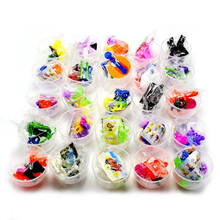 ZQX33 Flat Bottom Child Egg Plastic Surprise Capsule Toys For Vending Machine Capsules
