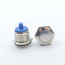 BIJIA illuminated 12mm push button switch <strong>ignition</strong> for motorcycle tucson keyless entry start