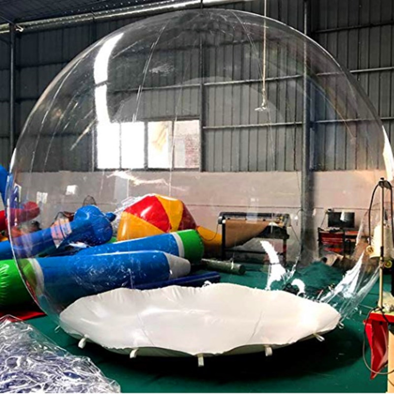 Outdoor Transparent event bubble  Inflatable  Camping Tent