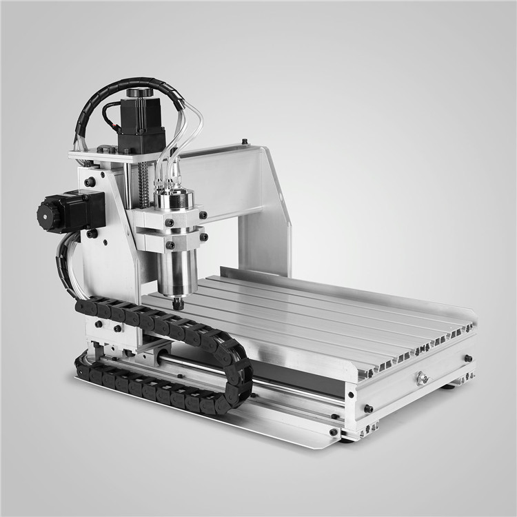 800W Water Cooled Spindel <strong>Motor</strong> <strong>3</strong> Axis Carving Cutter CNC Router Engraver