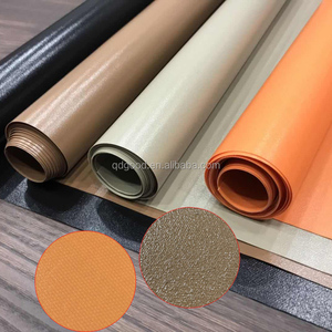 Pvc Coated Canvas Fabric Roll 560GSM Flat Type
