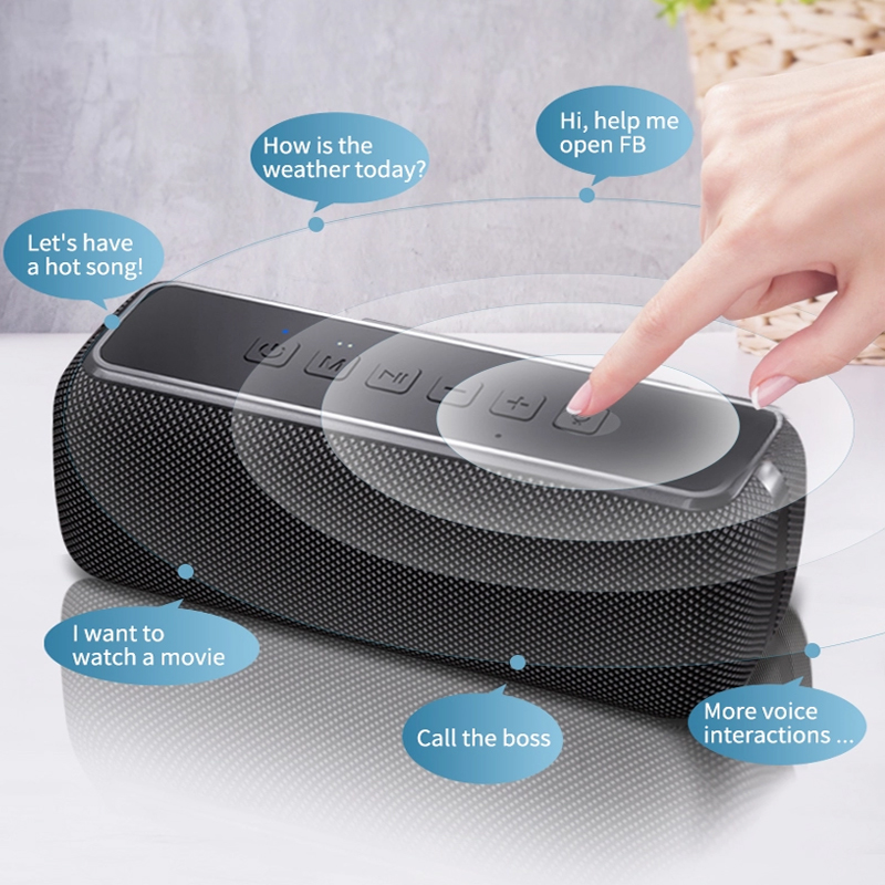 60W 50W IPX5 Waterdicht Creatieve Subwoofers Super Bass Bluetooth Speaker