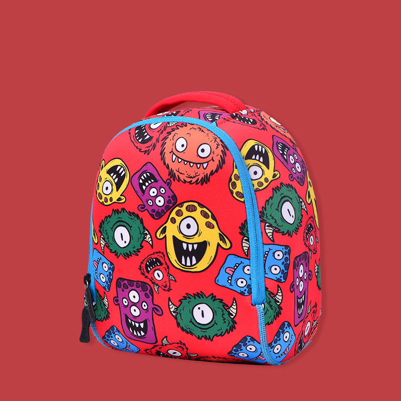 New Cartoon Kids School Bags 3D Diving Material waterproof child backpacks