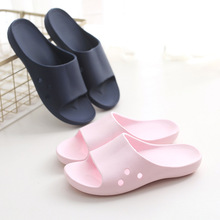 Men and women summer indoor non-slip plastic home leaking soft sole bathing bathroom sandals and <strong>slippers</strong>