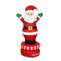 Custom promotional giant christmas decoration inflatable