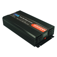 Converter 3KW 3KVA Inverter 12V 24V 48V DC To 230V AC 240V 220Volt 127V Solar Power Pure Sine Wave Inverter 3000W