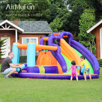 Airmyfun Outdoor Inflatable bounce house juego inflable jumping castle for sale