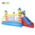 YARD Backyard Inflatable Bouncy Castle Bounce House With Slide For Ages 3-6
