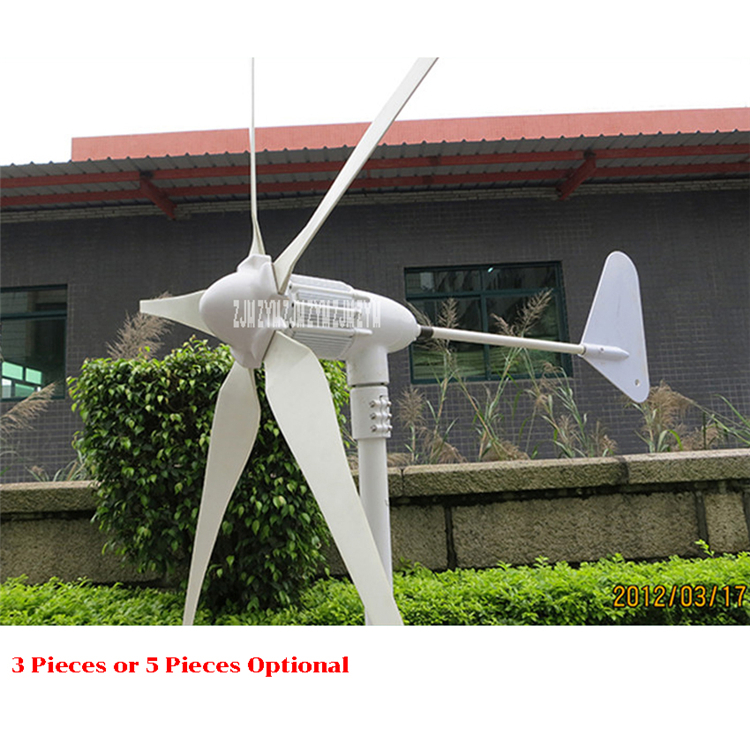 Z-500W <strong>Wind</strong> Generator 500W 12V/ 24V <strong>Wind</strong> Power <strong>Turbine</strong> 3 <strong>Blades</strong> or <strong>5</strong> <strong>Blades</strong> Small <strong>Wind</strong> Generator 740r/m High quality