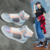 Fall New leads the way with the new Korean version of the lace-up high-top women's casual shoes