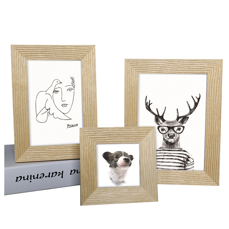 GTFRAME Wholesale Unfinished Foto New Models Wall Art Mini 4x6 Photo Solid Wood A2 8 x 10 Picture <strong>Frame</strong>