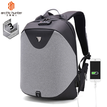 Arctic Hunter Guangzhou Backpacks Factory Wholesale Mochilas <strong>Bag</strong> ODM OEM Business Waterproof Anti Theft Smart Laptop Backpack