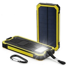 Shenzhen solar charger 20000mah portable charger Solar power bank for iphone 7