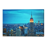 Photo Print City Modern Paintings Canvas Wall Art
