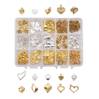 ES-(237)001 Charms Various heart-shaped alloy pendant accessories diy jewelry accessories handmade materials