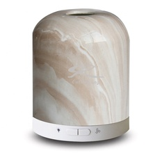 USB Connection Portable Electric <strong>Fan</strong> Aroma Diffuser with Ceramic Marble Cover