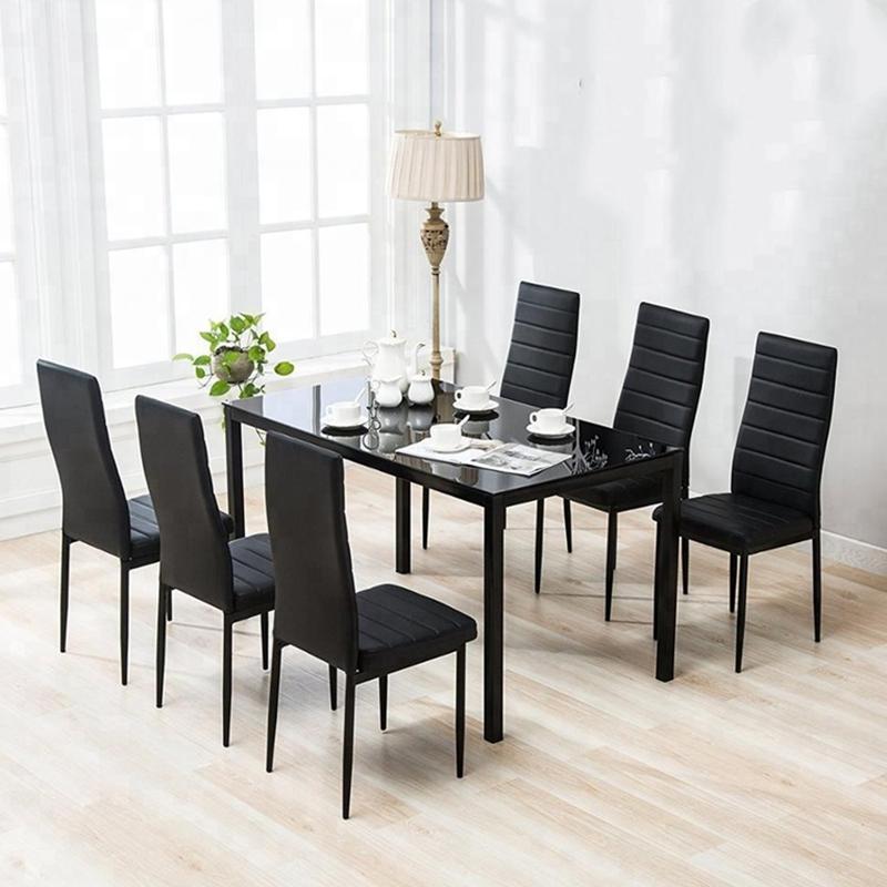 إزعاج قريبا ينجو Dining Chair Set Of 6 Room Chairs Best Table And With Regard To Psidiagnosticins Com