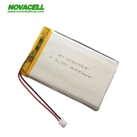 LP606090 lipo battery 3.7v 4000mah li polymer battery for mobile phones power banks