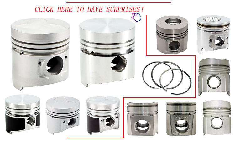 S6D114T High Guarantee 114MM Piston for  PC300-8 Part Number 3925878