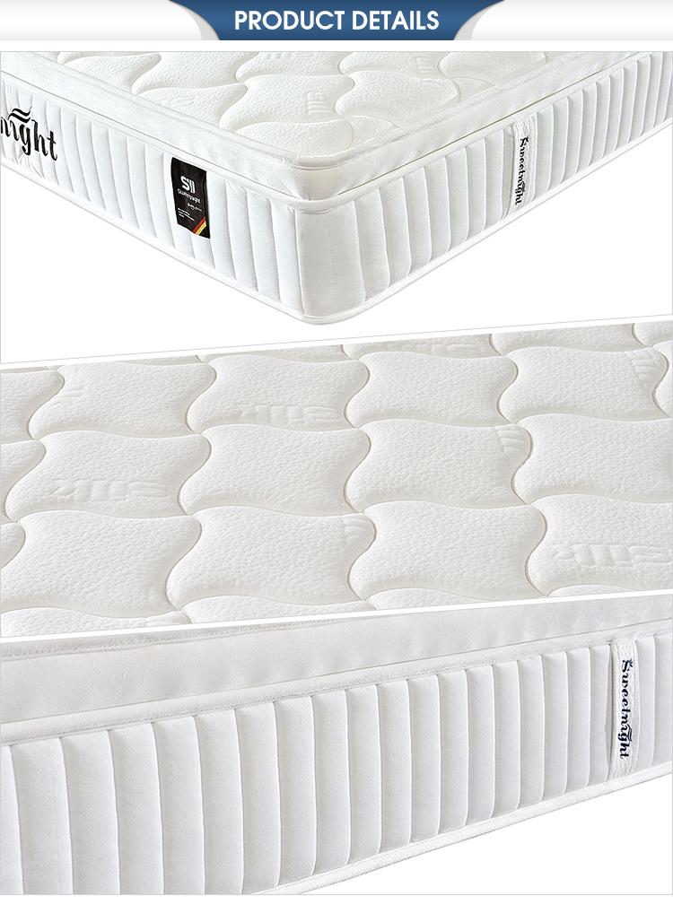 Durable hotel furniture latex natures dream twin mattress foam textile - Jozy Mattress | Jozy.net