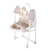 2020 Popular Hot sell Electric Music Baby Swing with toy and mosquito net
