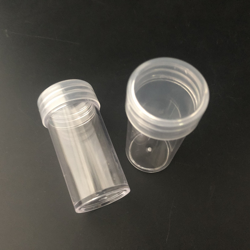 15ml PS  clear plastic cream bottle , 15ml glitter powder bottle,15g Loose powder bottle