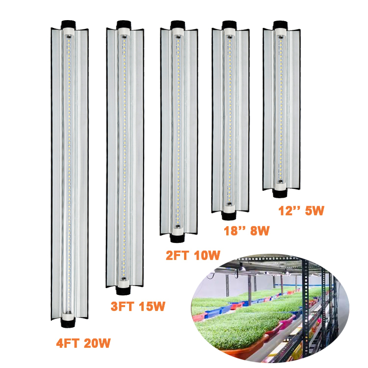agricultural lights vertical farming aeroponics system hydroponic microgreens 6400K best custom daisy chain 15w led grow light
