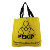 New recycle 600 denier polyester tote bag