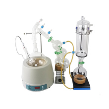 USA Lab Equipment Premium 2L Short Path Distillation Kit with 2000ml stirring heating mantle