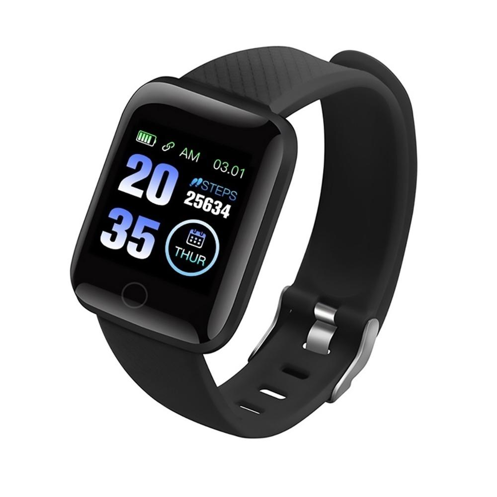 2020 new trending <strong>D13</strong> smartwatch with bluetooth 4.0 heart rate smart watch 116 Plus smart bracelet for iphone