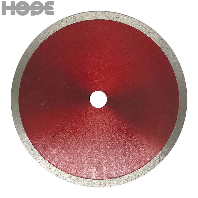 Excellent <strong>105</strong> wet cutting circular diamond saw blade for ceramic tile